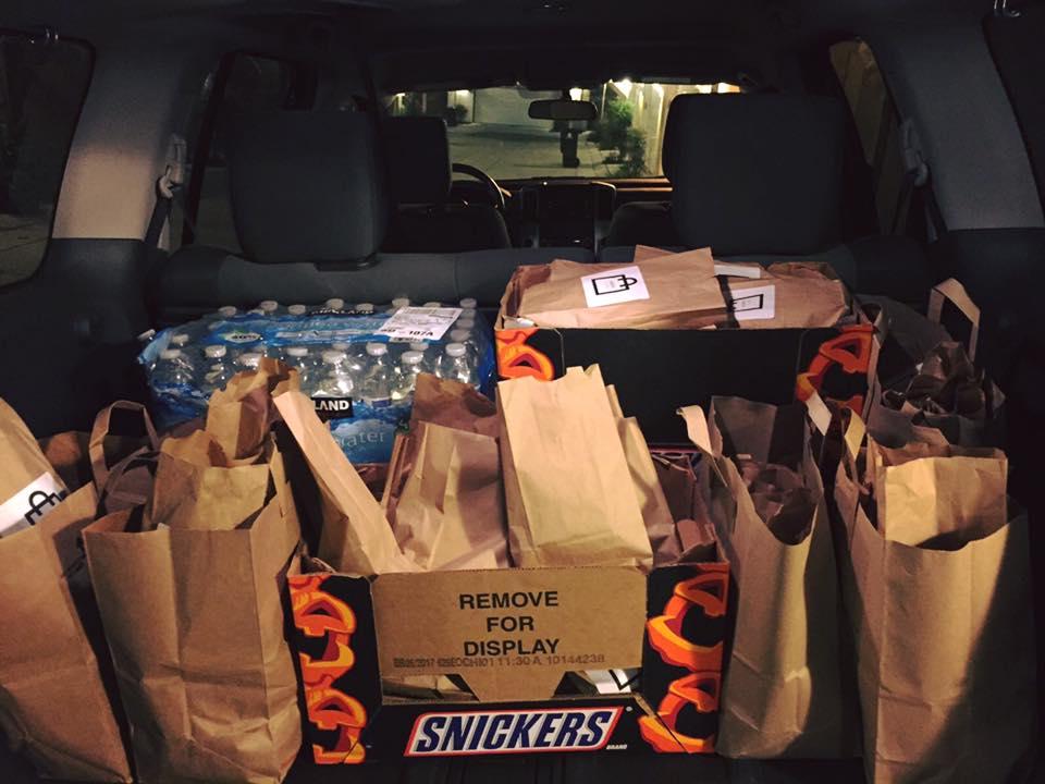 hope in a bag car loaded